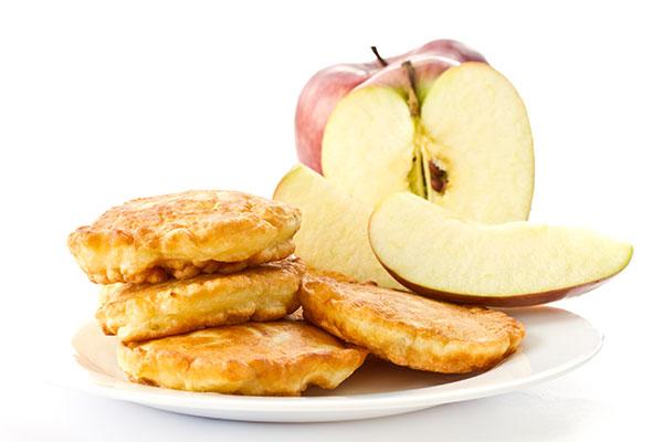 Lámina crujiente de manzana
